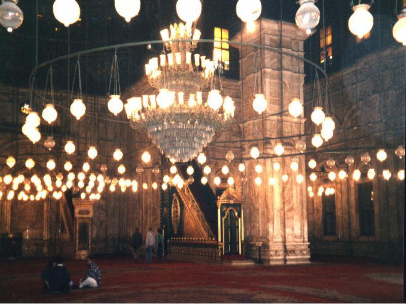 Masjid of the 1000 lamps - Cairo, Egypt